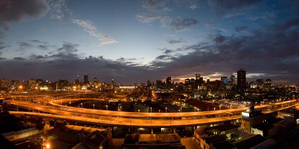 Johannesburg Sunrise City of Gold 600x300
