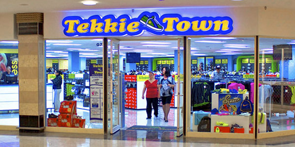 Tekkie Town today has close to 300 outlets.