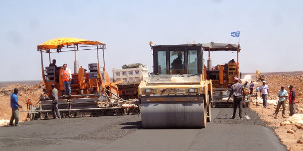 The LAPSSET project includes new roads linking Kenya, South Sudan and Ethiopia.