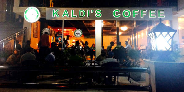 A Kaldi's Coffee outlet