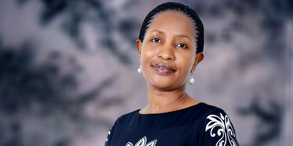 Julie Mutoni, DHL Express country manager for Rwanda