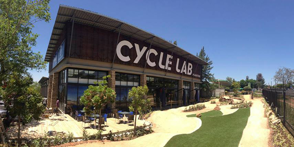 The Cycle Lab Fourways Megastore in Johannesburg is 2500m².