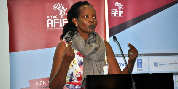 Mary Cherop Maritim is one of the four finalists for AFIF's 2015 Entrepreneurship Award.
