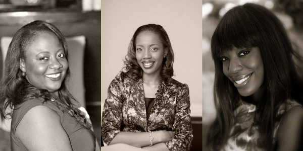 From left to right: Odunoluwa Longe, Bola Olonisakin and Funkola Odeleye