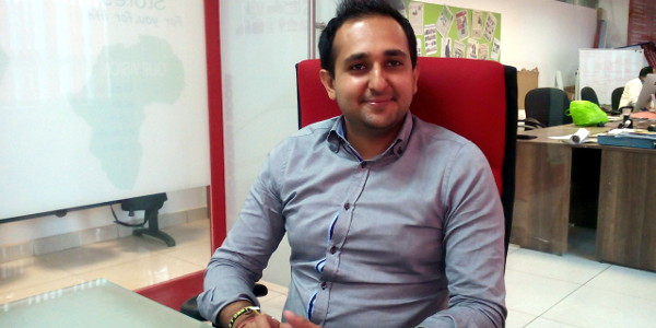 Trushar Khetia, founder and CEO of Society Stores