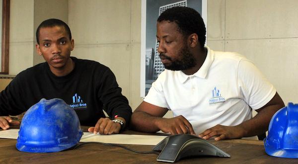 Simphiwe Majozi (left) and Sihle Ndlela (right)