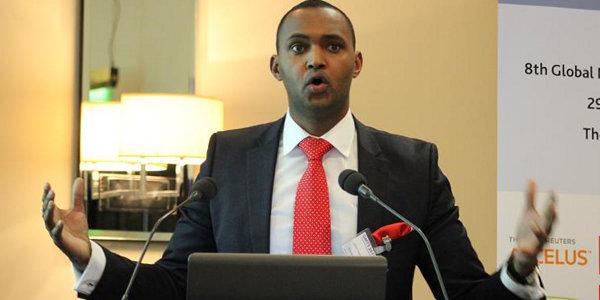 Hassan Dudde, managing director of the Somali Economic Forum