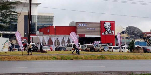 A KFC outlet in Nairobi