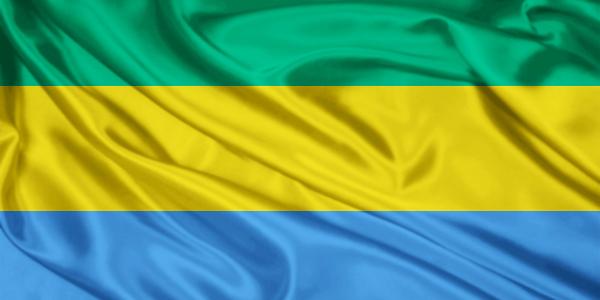 Gabon flag 2 600x300