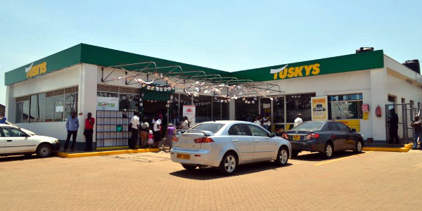 A Tuskys outlet