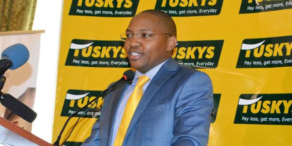 Dan Githua, CEO of Tuskys