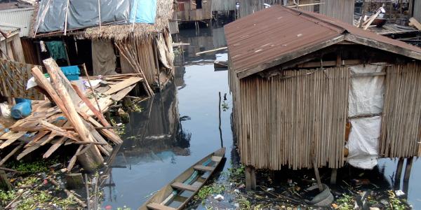Lagos slums. Photo: Heinrich-Böll-Stiftung