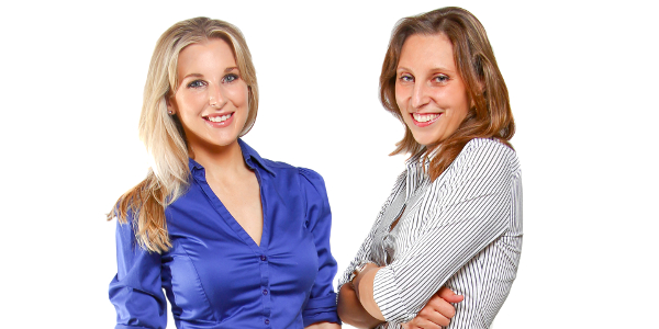 Moira Johnston (left) and Nicky Rosin (right) are the founders of EventRoom, an easy-to-use online marketplace where users can shop for both commercial and private event venues.