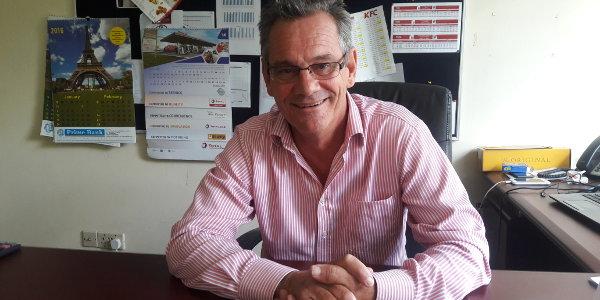 Justin Melvin is general manager of Kuku Foods Kenya, the franchise holder of KFC in East Africa.