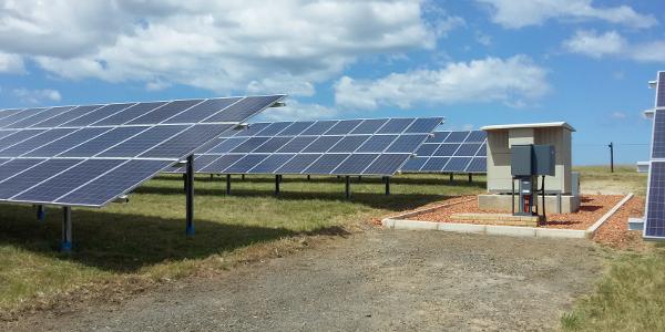 george solar panels
