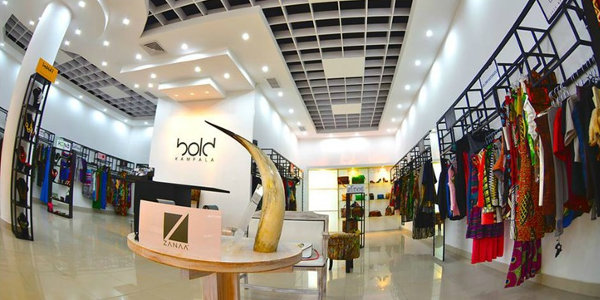 Bold Kampala stocks over 30 designers from across the continent.
