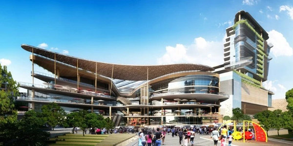An artist's impression of the Two Rivers Retail Centre in Nairobi, expected to open this year.