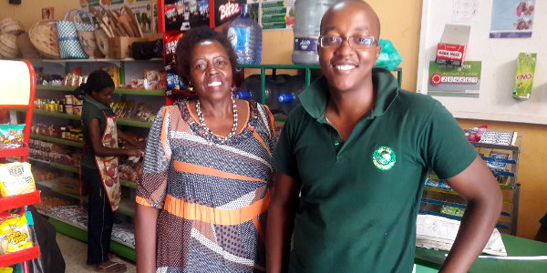 Lucy and Jeremy Karingithi, the mother-son duo behind Mboga Masters