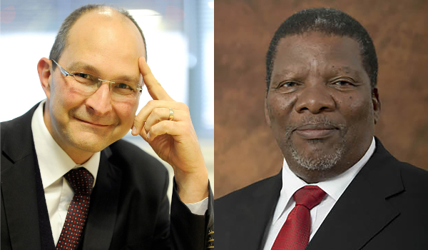 Wessel Lemmer and Gugile Nkwinti