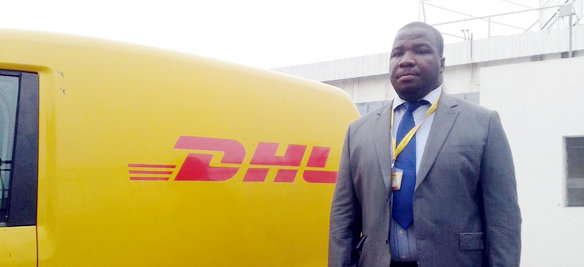 Serge Gnandji, country manager of DHL Express Côte d'Ivoire