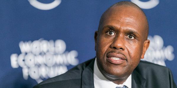 John Mirenge, CEO of Rwanda's national carrier RwandAir