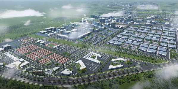 An artist's impression of the proposed Star City development.