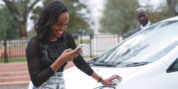 Uber used fashion blogger Sharon Mundia to promote its launch in Kenya.