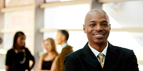 African businessman entrepreneur