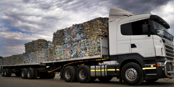Rent-A-Drum has a fleet of over 70 vehicles which collect recyclables from about 200,000 households a month.