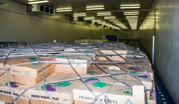 Perishables in Cool Corridor 600x350
