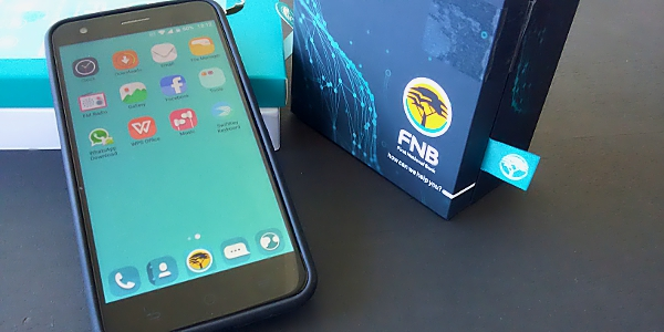 FNB's ConeXis X1 is its higher-specification smartphone aimed at its Gold and Platinum account holders.