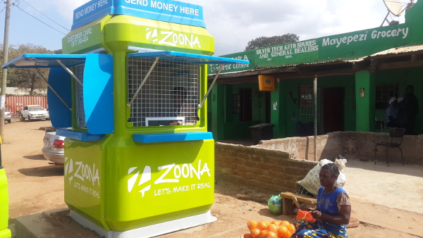 A Zoona outlet in Zambia.
