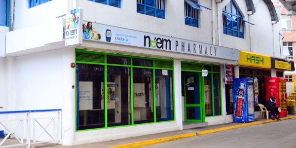 A Neem Pharmacy outlet in Nairobi
