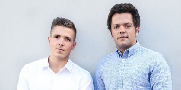 Ashley James (left) and Crispin Inglis (right) are the founders of South Africa's latest online real estate agency, Property Fox.