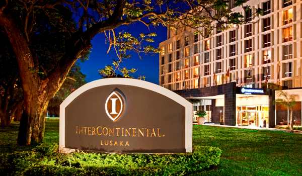 InterContinental Hotels & Resorts in Lusaka, Zambia.