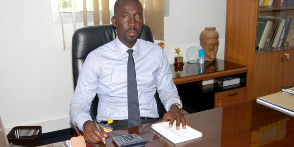 Abdoulaye Thiam, country manager for DHL Express in Senegal