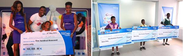 "TECNO ""Give Children a Future"" scholarship programme"