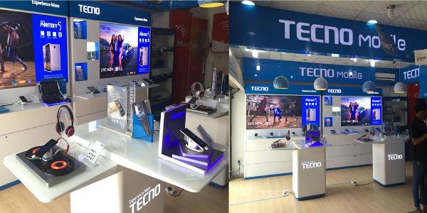 A TECNO Mobile sales outlet in Lagos, Nigeria