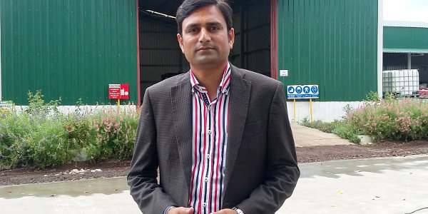 Rakesh Dudhat, chairman of Shree Hari Group