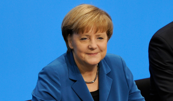 Angela Merkel. Photo: Martin Rulsch