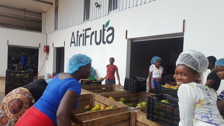 AfriFruta factory in Mozambique
