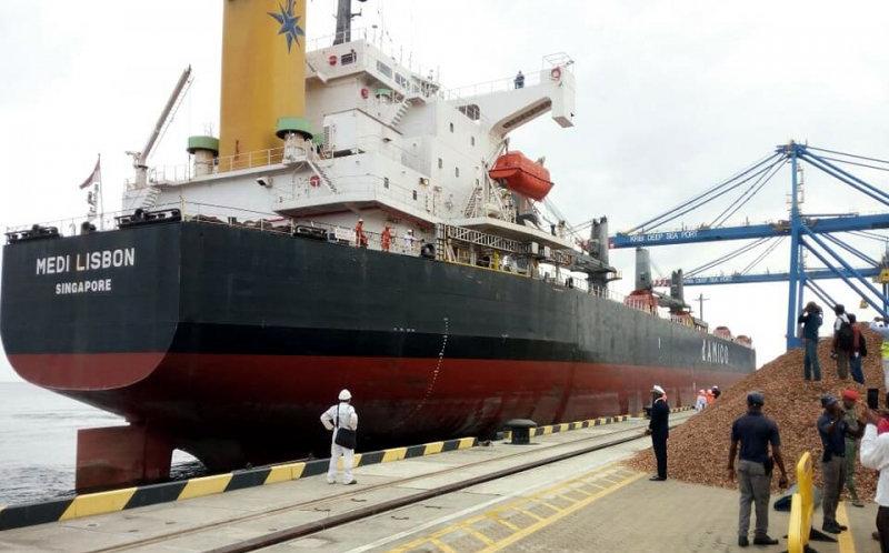 Kribi port Cameroon