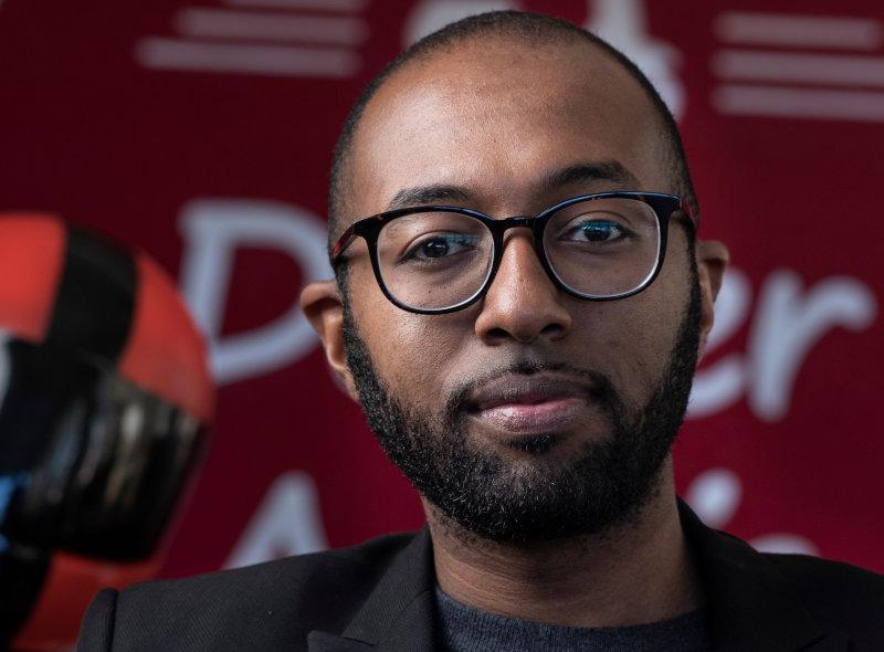 Feleg Tsegaye, founder of Deliver Addis