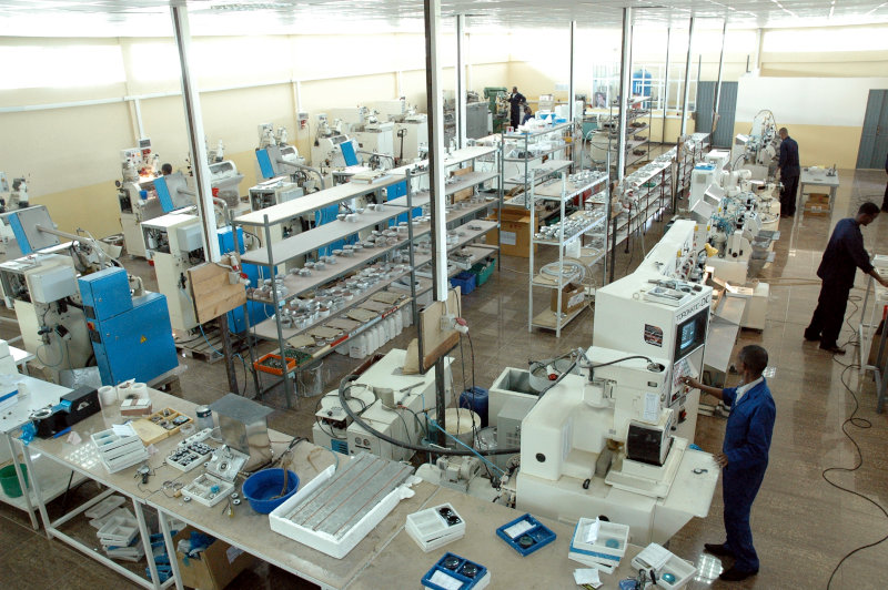 Sun Optics has three production labs.