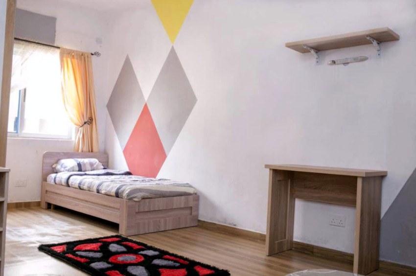 A room in Student Accommod8's Ceder House development.