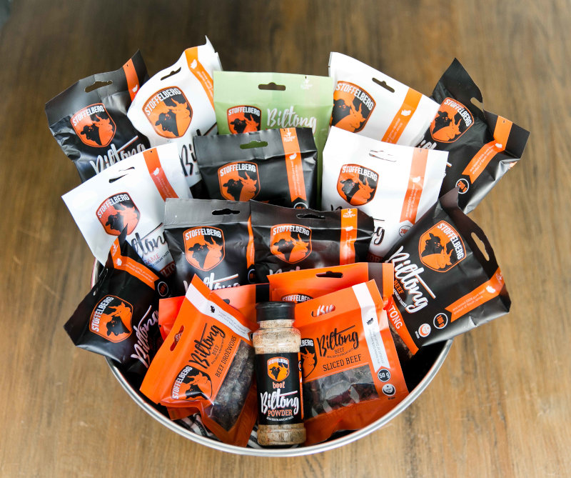 Biltong brand Stoffelberg taps into the meat snacks trend.