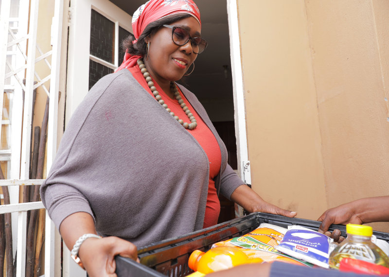 Yebo Fresh delivers thousands of orders a day