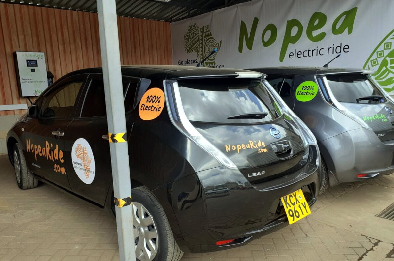 NopeaRide currently has seven charging stations in Nairobi.