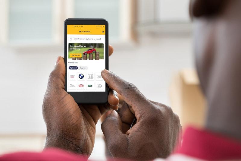The Autochek mobile app