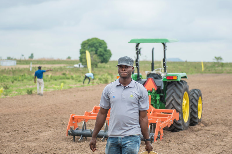The majority of Hello Tractor clients are smallholders farmers with one to five hectares of land.